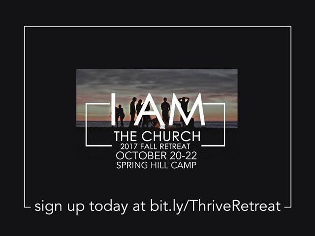We're really excited about this retreat! Sign up before Saturday to get the discounted rate.