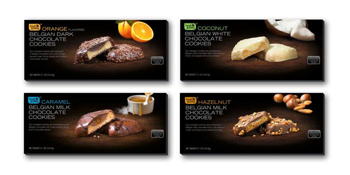Designed packaging for fresh amp eeasy belgian imported premium