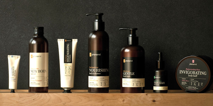 Phenome Organic Skincare The Dieline