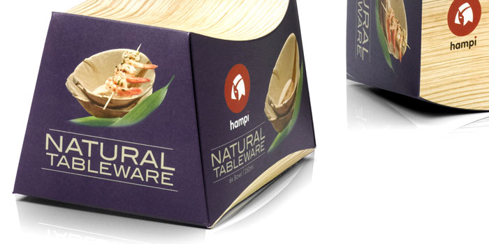 H&i Natural Tableware  sc 1 st  The Dieline & Hampi Natural Tableware u2014 The Dieline | Packaging u0026 Branding Design ...