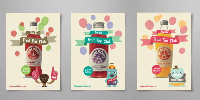 Feel Good Drinks — The Dieline | Packaging & Branding Design ...