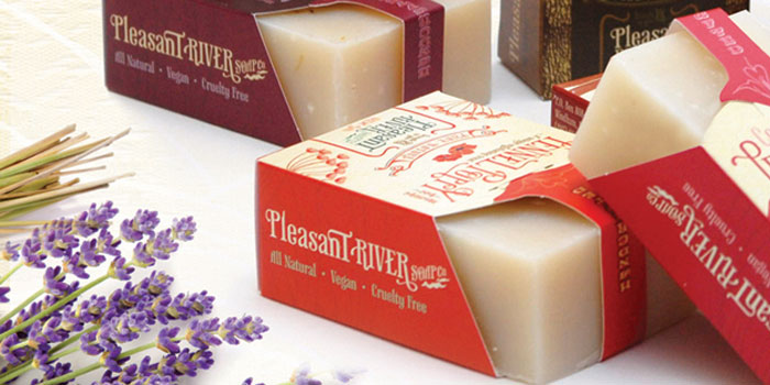 Pleasant River Soap — The Dieline | Packaging & Branding Design ...