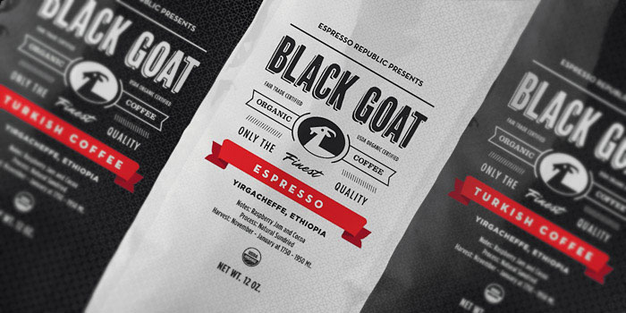 42 a black goat coffee packages