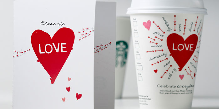 Starbucks Valentineu0027s Day Cups