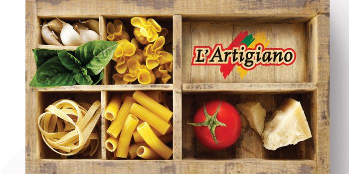 L artigiano rebranding the dieline packaging for L artigiano arredamenti monsummano
