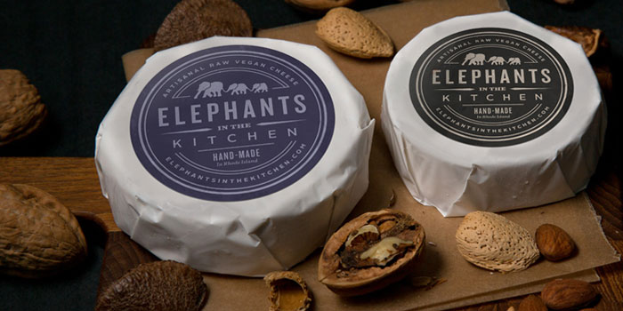 Charmant Elephants In The Kitchen, Artisan And Vegan Cheese