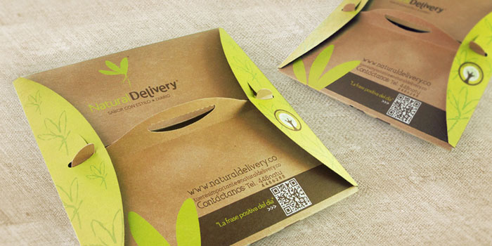 Natural delivery the dieline branding amp packaging design