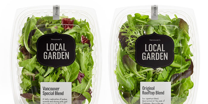 Local garden the dieline packaging branding design for Local garden designers