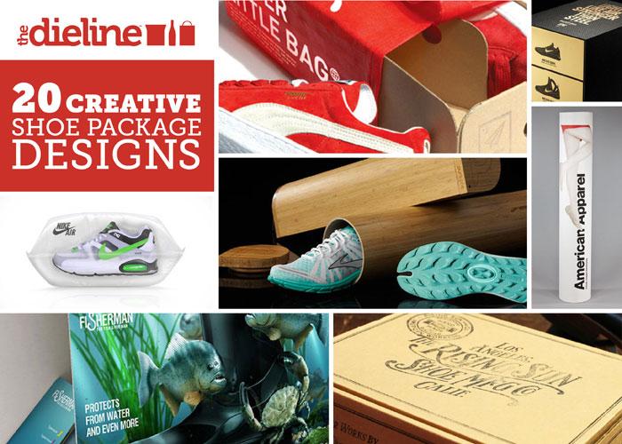 20 Creative Shoe Package Designs The Dieline Packaging