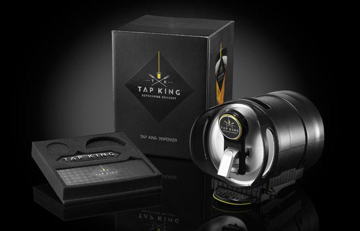Tap King The Dieline Packaging Amp Branding Design