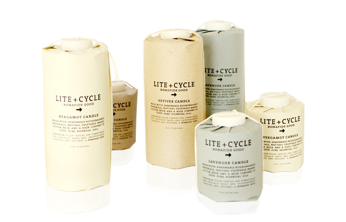 Lite Cycle Candles The Dieline Packaging amp Branding