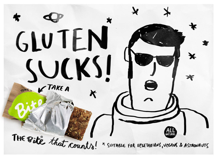 PGS Bite Gluten Sucks F