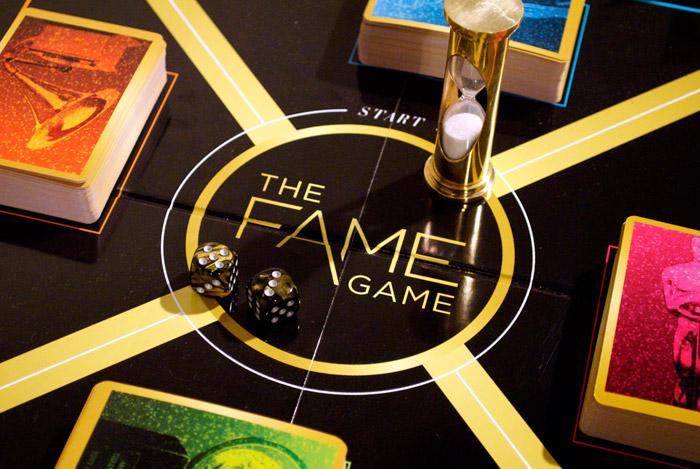 Famegame closeup