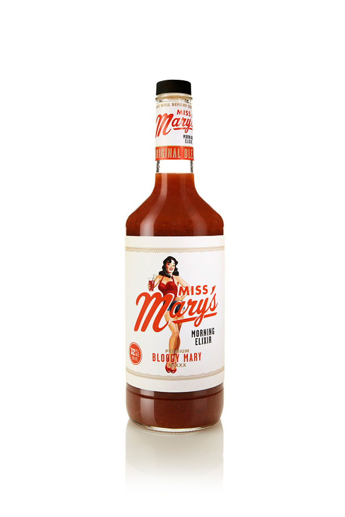 Packaging design inspiration #14 - Miss Mary's Morning Elixir by Brandon Van Liere
