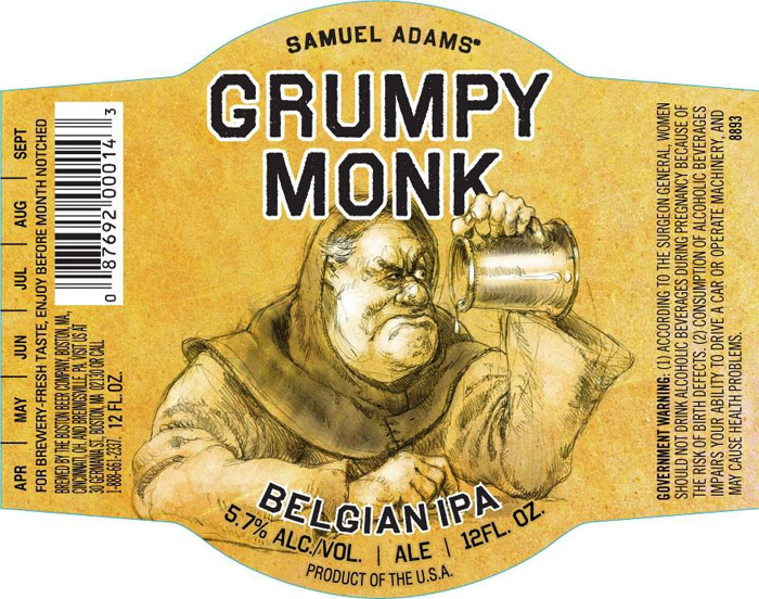 Sam Adams Grumpy Monk