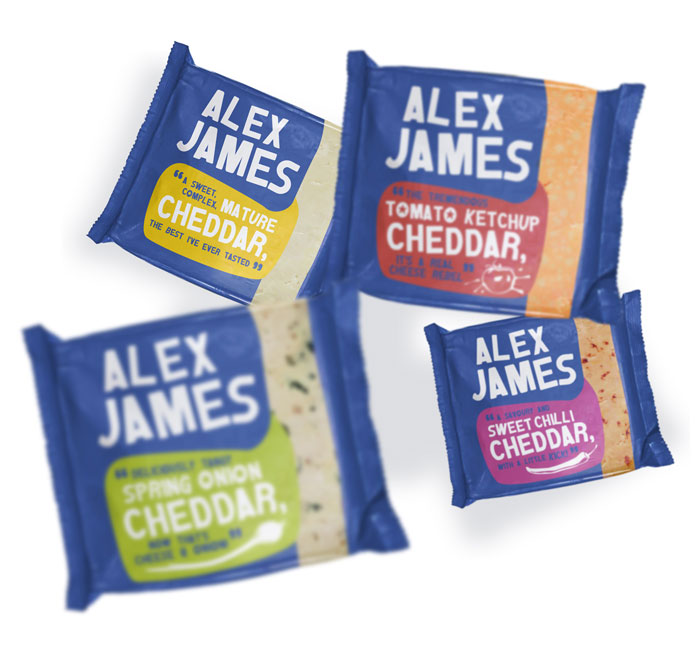 Alex James Cheese Packaging Design Dzinemafia 03