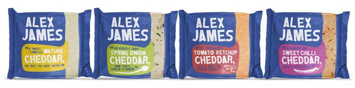 Alex James Cheese Packaging Design Dzinemafia 02