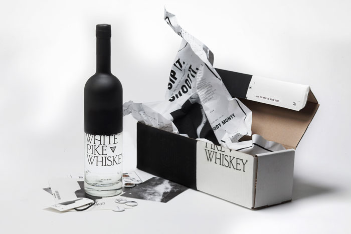 Packaging design inspiration #14 - White Pike Whiskey by Mother Design