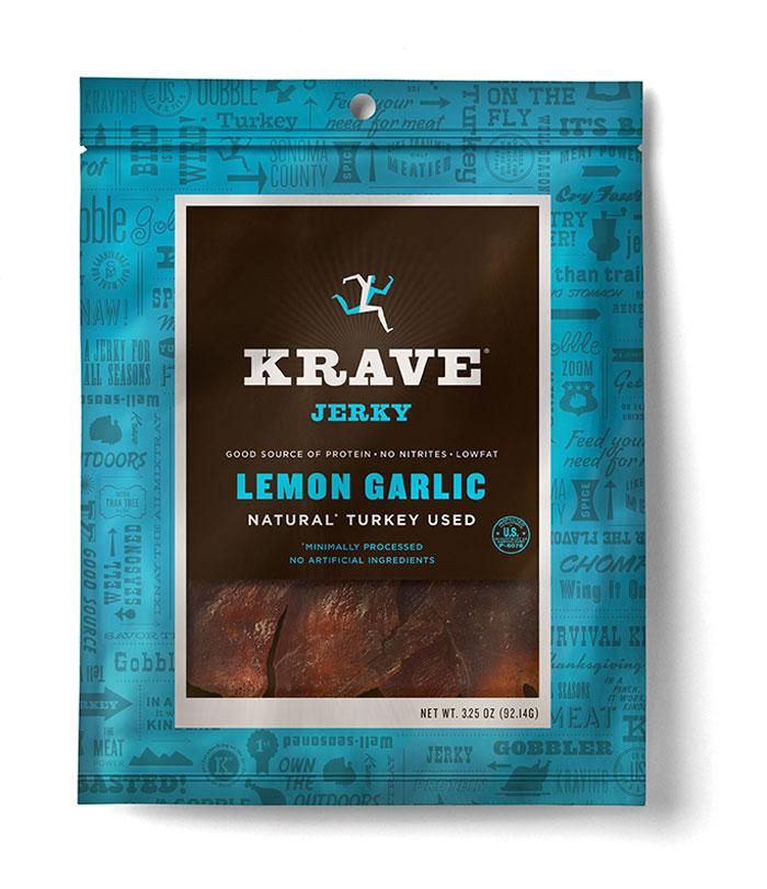 Krave jerkey LemonGarlic