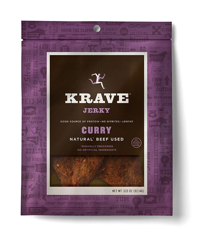 Krave jerkey Curry