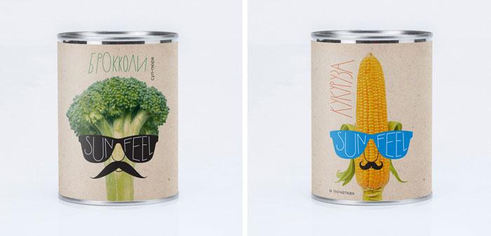 Packaging design inspiration #11 - SunFeel by :OTVETDESIGN