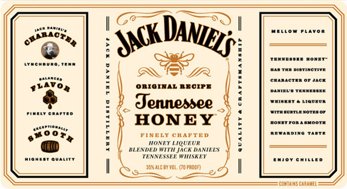 Jack Daniel S Tennessee Honey The Dieline Packaging