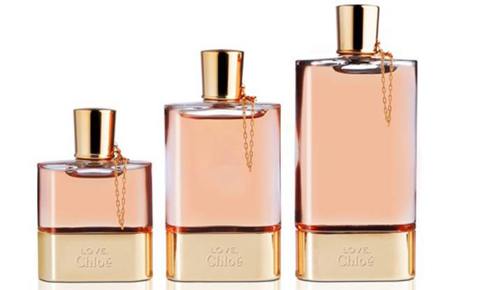 Знаковый розовый цвет Chloé, стройный силуэт флакона, изящная Love, Chl