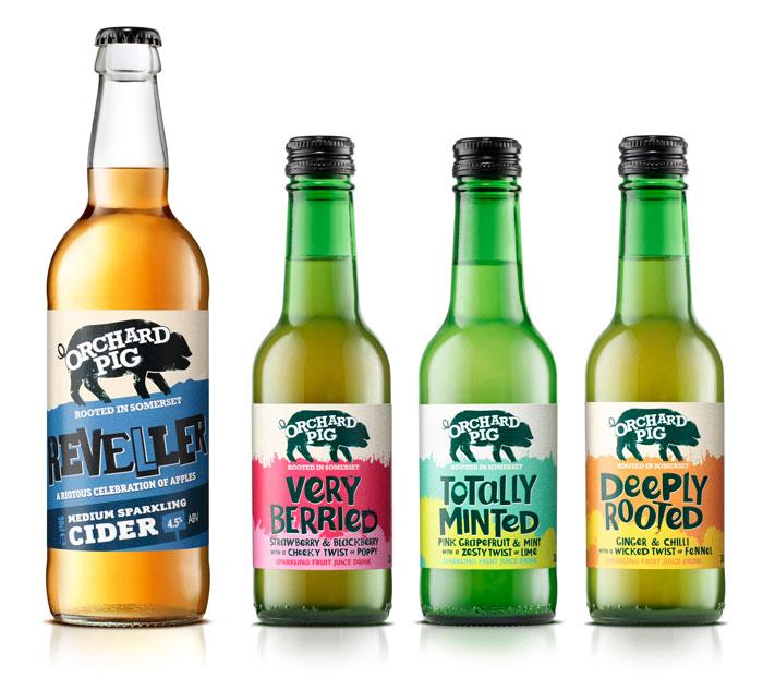 OP Fruit Cider line up