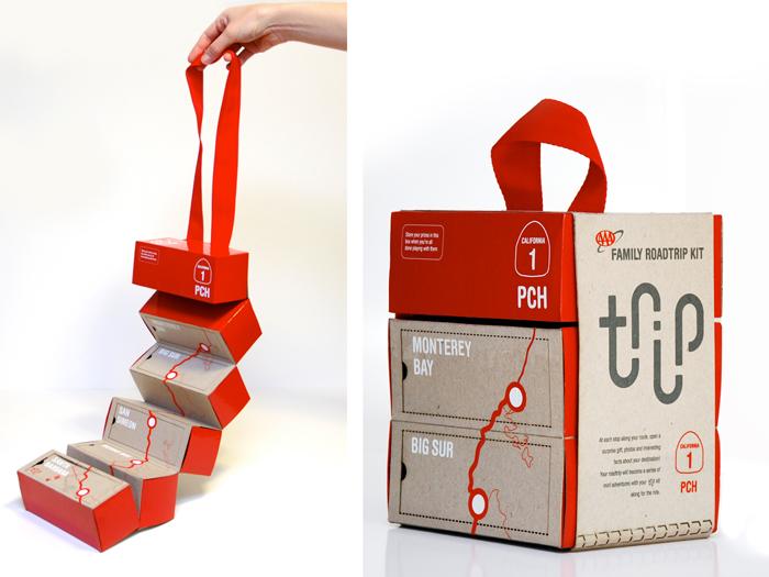 student spotlight trip kit the dieline packaging
