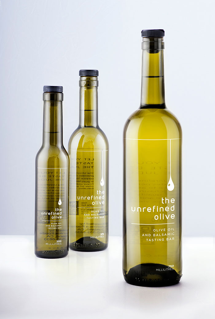 Packaging design inspiration #9 - Unrefined Olive Oil by The Small Monsters