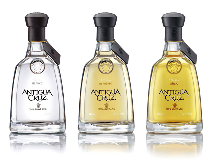 Before Amp After Antigua Cruz Tequila The Dieline
