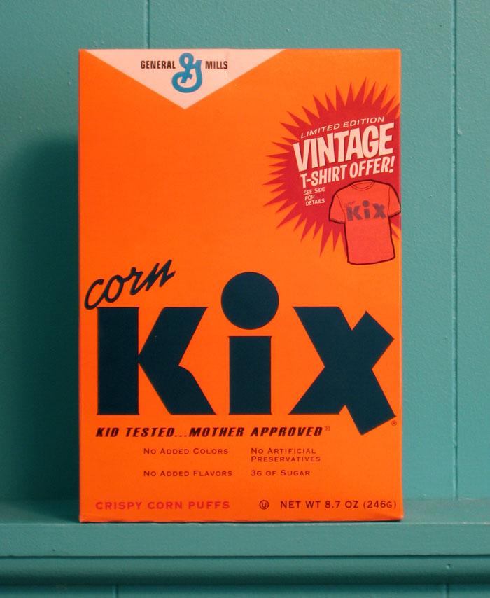 Vintage Packaging: Kix Cereal — The Dieline