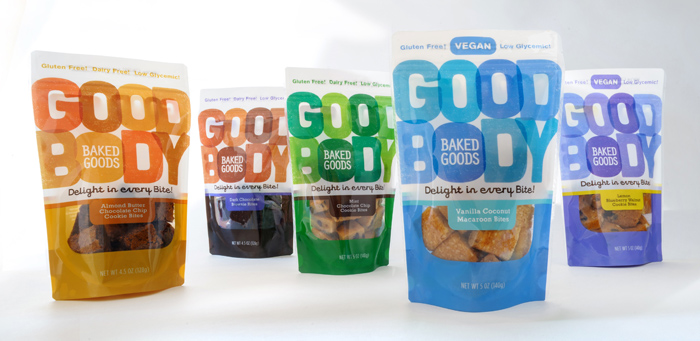 Packaging design inspiration #13 - Goodbody Baked Goods by TOAST Marketing & Design