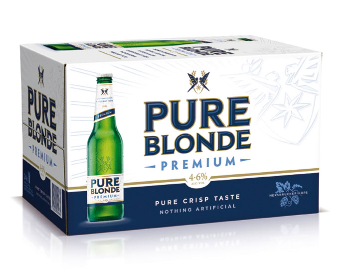 Pure Blonde Core Carton