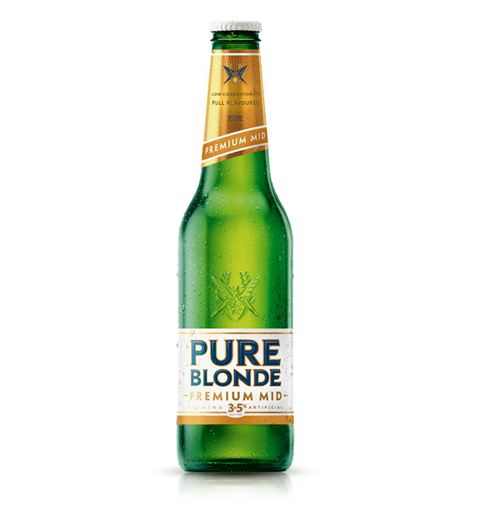 Pure Blonde MID Bottle