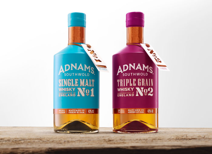 Packaging design inspiration #17 - Adnams Whisky by CookChick