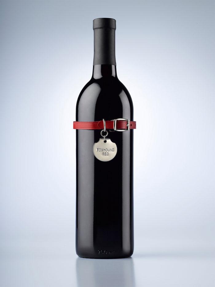 Winebottle foxhoundred bottle