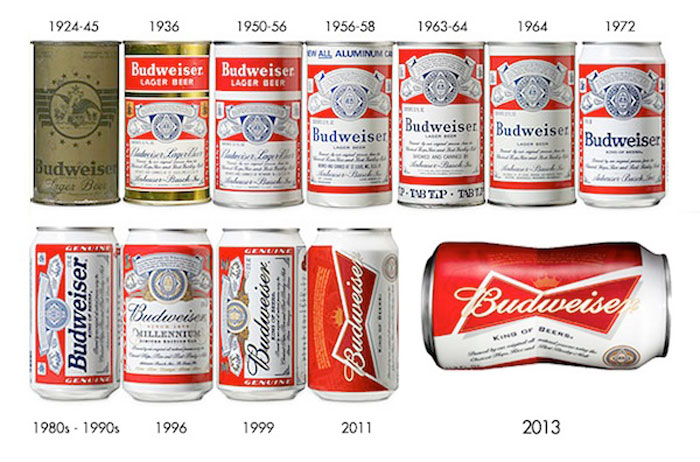 Budweiser 39 s 39 bowtie shape 39 can the dieline packaging for Budweiser logo tattoos