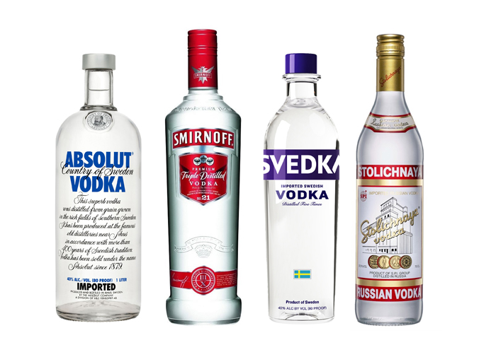 Vodka vs. Consumers: Top Selling Vodkas Stack Up On ...