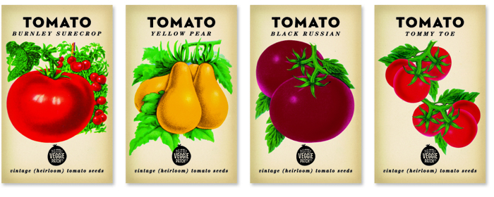 The Little Veggie Patch The Dieline Packaging