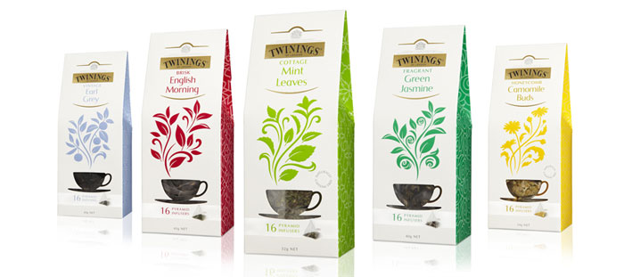 Packaging design inspiration #11 - Twinings by Believe Branding
