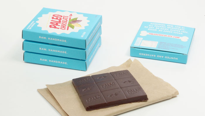 Packaging design inspiration #9 - Paleo Chocolate by Morgan White