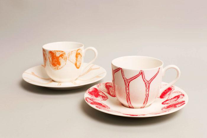 4 twig cups