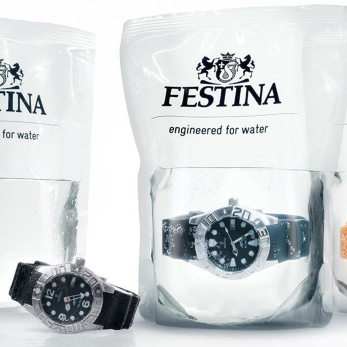 water for waterproof watches