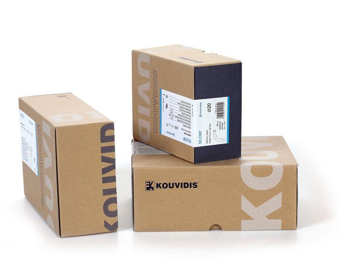 Kouvidis the dieline packaging branding design for Design versand