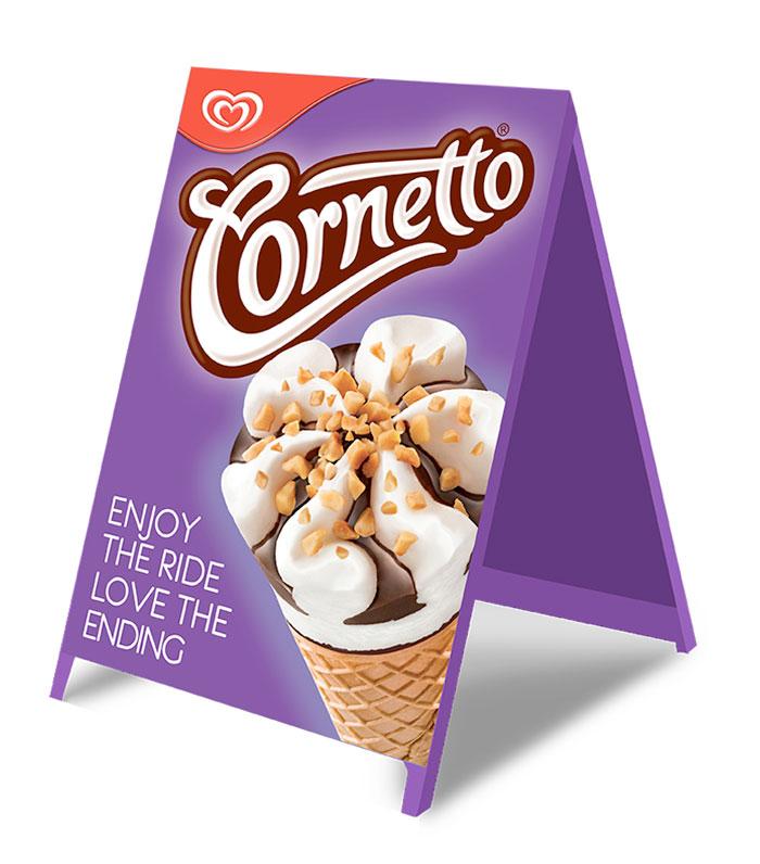 Cornetto A board