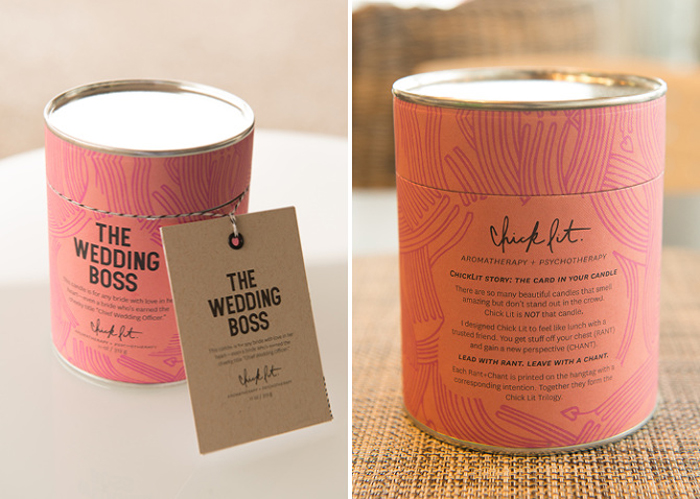 Packaging design inspiration #18 - Chick Lit Candles by Morgan Sterns