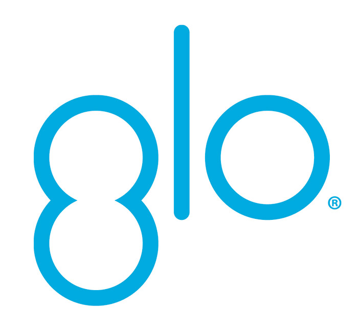 GLO Logo PMS801U Registered