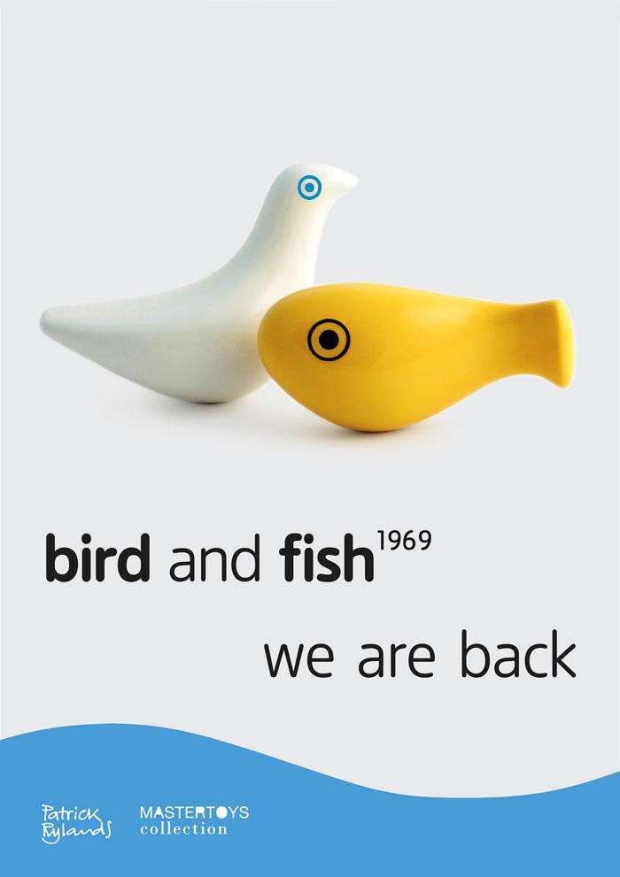 Webb Webb Bird Fish poster