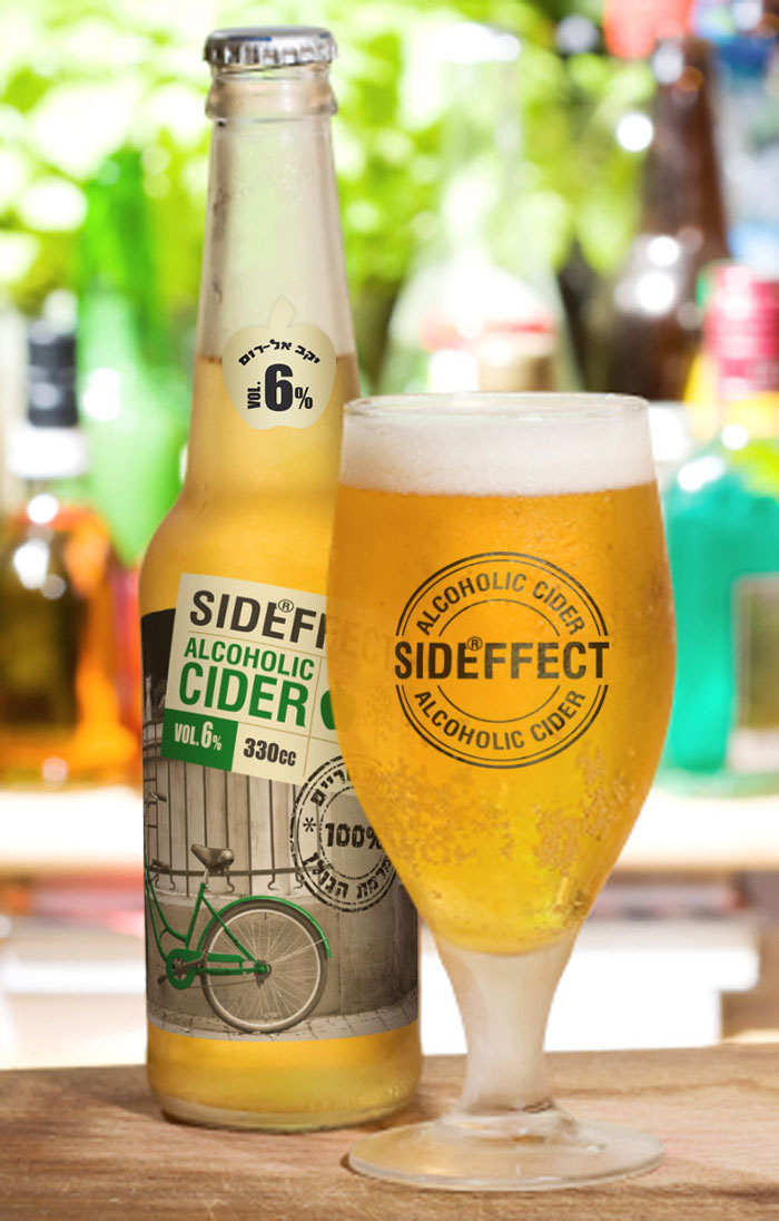 Alcoholic Cider Side Effect The Dieline Packaging